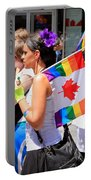 Canadian Rainbow Portable Battery Charger