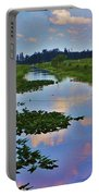 Canal In The Glades Portable Battery Charger