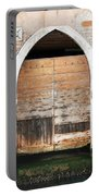 Canalside Weathered Door Venice Italy Portable Battery Charger