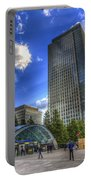 Canary Wharf Station London Portable Battery Charger