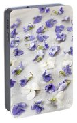 Candied Violets Portable Battery Charger