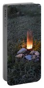 Candle Glow Portable Battery Charger