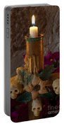 Candle On Day Of Dead Altar Portable Battery Charger