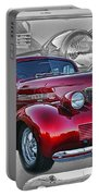 Candy Apple Red Portable Battery Charger