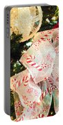 Candy Cane Dreams Portable Battery Charger