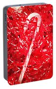 Candy Cane Portable Battery Charger