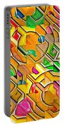 Candy - Lolly Pop Abstract  Portable Battery Charger