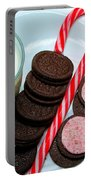 Candycane  Cookies - Milk - Cookies Portable Battery Charger