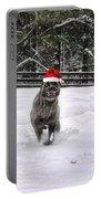 Cane Corso Christmas Portable Battery Charger