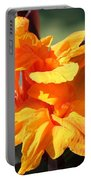 Canna Lily Named Wyoming Portable Battery Charger