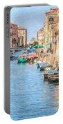 Cannareggio Canal Venice Portable Battery Charger