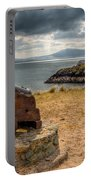 Cannon At Llanddwyn  Portable Battery Charger by Adrian Evans