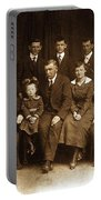 Cannon Family Portrait Circa 1912 Portable Battery Charger