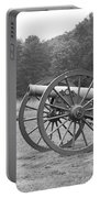 Cannons On Manassas Battlefield Portable Battery Charger