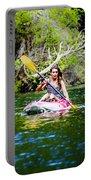 Canoe For Girls Portable Battery Charger