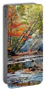 Canopy Of Color Iv Portable Battery Charger by Frozen in Time Fine Art Photography
