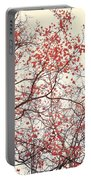 canopy trees II Portable Battery Charger by Priska Wettstein