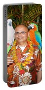 Can't Get Brighter Than This  Artist Navinjoshi In Hawaii Travel Vacations With Trained Parrots By P Portable Battery Charger