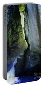 Canyon Creek Narrows And Spills Thousands Of Gallons A Minute  Portable Battery Charger