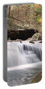 Canyon Waterfall-artistic Portable Battery Charger
