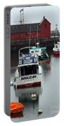Cape Ann Red Fishing Shack Portable Battery Charger