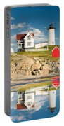 Cape Neddick Light  Reflections Portable Battery Charger