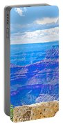 Cape Royal Blue On North Rim Of Grand Canyon-arizona Portable Battery Charger