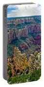 Cape Royal On North Rim Of Grand Canyon-arizona Portable Battery Charger