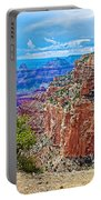 Cape Royal Three On North Rim Of Grand Canyon-arizona Portable Battery Charger