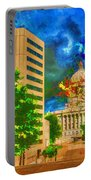 Capital - Jefferson City Missouri - Painting Portable Battery Charger