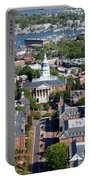 Capital Of Maryland In Annapolis Portable Battery Charger