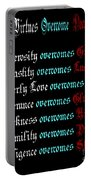 Capital Virtues Overcome Deadly Sins Portable Battery Charger