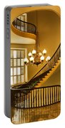 2 - Capitol Staircase - Montgomery Alabama Portable Battery Charger