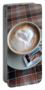 Cappuccino Love Portable Battery Charger