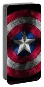 Captain America Shield Portable Battery Charger