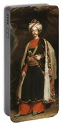 Captain Colin Mackenzie In His Afghan Portable Battery Charger by James Sant