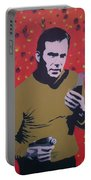 Captain Kirk Portable Battery Charger
