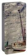 Captain Phillips Portable Battery Charger by Benanne Stiens
