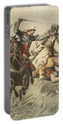Capture Of Samory By Lieutenant Portable Battery Charger