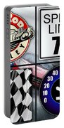 Speed Demon Art For Boys And Men Portable Battery Charger