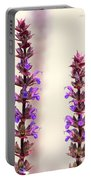 Caradonna Salvia Flowers Portable Battery Charger