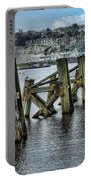 Cardiff Bay Old Jetty Supports Portable Battery Charger