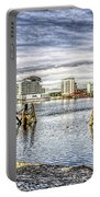 Cardiff Bay Towards St Davids Hotel Portable Battery Charger