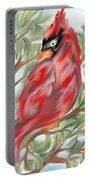 Cardinal At Rest Portable Battery Charger