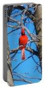 Cardinal Bird  Portable Battery Charger