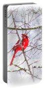 Cardinal Christmas-2014 Portable Battery Charger
