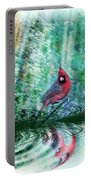 Cardinal - Featured In Comfortable Art-wildlife-and Nature Wildlife Groups Portable Battery Charger