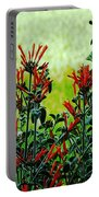 Cardinal Flowers Portable Battery Charger