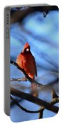 Cardinal In The Midst Portable Battery Charger