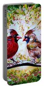 Cardinals Chat Portable Battery Charger